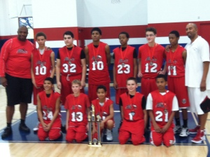 14U Places 2nd at MLK Tourney